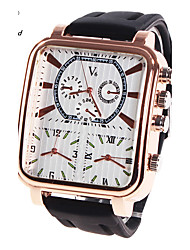 Муж. Спортивные часы Армейские часы Нарядные часы Модные часы Наручные часы Кварцевый Цифровой Натуральная кожа Группа Кулоны Роскошь