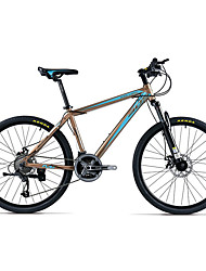 Недорогие -Горный велосипед Велоспорт 21 Скорость 26 дюймы/700CC 40мм Унисекс Взрослый BB8 Двойной дисковый тормоз Передняя вилка с амортизациейРама
