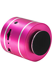 cheap -D3+ Mini Support Memory card Support FM Radio Surround sound Bult-in mic 3.5mm AUX USB Wireless speaker Black Silver Fuchsia Light Blue