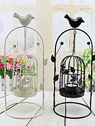 cheap -2Pcs Birdcage Candle Cover Candles Floral/Botanical Wedding