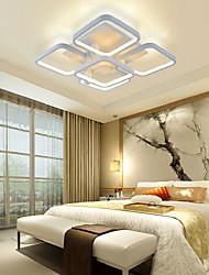 cheap -Modern/Contemporary LED Flush Mount Ambient Light For Living Room Bedroom Kitchen Dining Room Warm White Yellow White 110-120V 220-240V