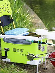 Недорогие -Коробка для рыболовной снасти Коробка для рыболовной снасти Водонепроницаемый 1 Поднос PU 55 cm 39 cm