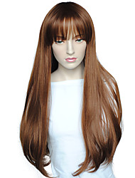 cheap -Women Wig Long Deep Wave Synthetic Wigs Heat Resistant Hairstyle With Cap Cosplay Costume