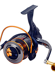 baratos -Molinetes de Pesca Molinetes Rotativos 2.6:1 Relação de Engrenagem+16.0 Rolamentos Orientação da mão Trocável Pesca Geral - XF3000