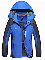 billige -Unisex Softshell jakke til trekking Udendørs Vinter Vandtæt Hurtigtørrende Vindtæt Påførelig Åndbart Svedreducerende Ultralet stof
