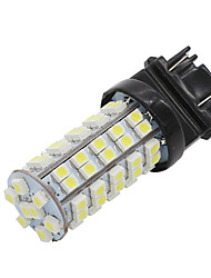 4x 68smd blanc 3528 conduit t25 1157 BAY15D ampoules arrêt de frein signal lumineux nouveau