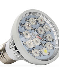 cheap -1pc 400-500 lm E14 GU10 E27 Growing Light Bulbs 12 leds High Power LED Warm White UV (Blacklight) Blue Red AC 85-265V