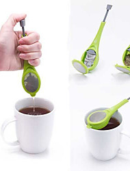 1Pcs Healthy Flavor Total Tea Infuser Gadget Measure Swirl Steep Stir And Press Food Grade Plastic Tea&Coffee Strainer
