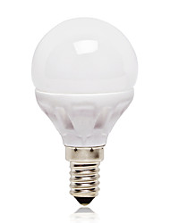E14 Lampadine globo LED G45 14 leds SMD 2835 Bianco 416lm 4000K AC 220-240V
