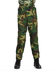 Men's Women's Unisex Camouflage Hunting Pants Wearable Lightweight Materials Camouflage Bottoms for Hunting S M L XL XXL