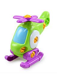 Недорогие -Игрушки Вертолет Игрушки Вертолет пластик Творчество Классический и неустаревающий 1 Куски Мальчики Девочки Рождество День рождения День