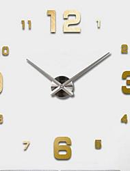 Недорогие -Модерн Офисный Друзья Семья Школа/выпускной Настенные часы,Новинки Металл 63*63 В помещении Часы