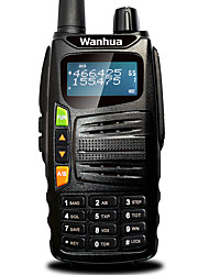 Wanhua gts710 talkie-walkie vhf uhf 136-174MHz 400-480mhz 128ch 5w vox dtmf émetteur-récepteur portable radio bidirectionnelle