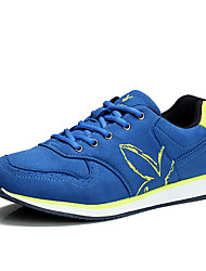 cheap -Men's Sneakers Rubber Running Wearproof Rubber Dark Blue / Dark Grey / Blue