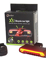 cheap -Bike Lights Laser / LED LED Cycling Remote Control / RC / Waterproof / Super Light Lithium Battery 80 lm Lumens Battery Cycling / Bike /