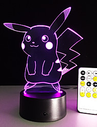 cheap -Cartoon Table Lamp With 3D Effect Led Night Light Holiday Light Fun Light For Baby And Decoration Birthday Gift