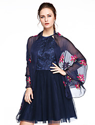 cheap -Tulle Wedding Party Evening Office & Career Women's Wrap Shawls