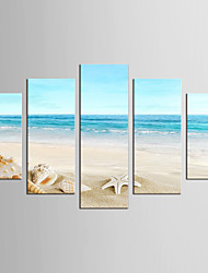Canvas Set Famous Landscape Modern Mediterranean,Five Panels Canvas Any Shape Print Wall Decor For Home Decoration