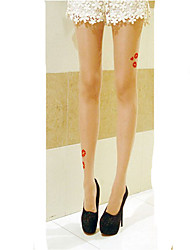 Socks/Stockings Sweet Lolita Lolita Lolita Lolita Accessories Stockings Print For Velvet