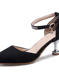 Women's Heels D'Orsay & Two-Piece Club Shoes Leatherette Spring Summer Fall Winter Casual Party & Evening DressD'Orsay & Two-Piece Club