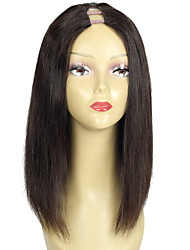 cheap -Short Bob Cut U Part Wigs Human Hair Upart Wig Bob Style U Shaped Wig Middle Part 150% Density Fast Shipping