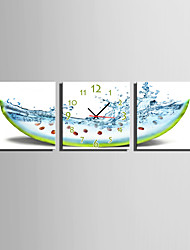 cheap -Casual Modern/Contemporary Canvas Square Indoor,AA Wall Clock