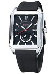 Pánské Sportovní hodinky Módní hodinky Náramkové hodinky Křemenný Pravá kůže Kapela Přívěsek Běžné nošení Vícebarevný