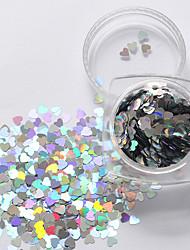 abordables -1 pcs Bijoux pour ongles Paillettes Manucure Manucure pédicure Quotidien Glitters / Néon et lumineux / Mode / Bijoux à ongles