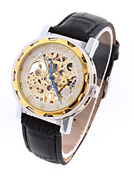 Men's Sport Watch Fashion Watch Wrist watch Quartz Genuine Leather Band Vintage Casual Luxury Multi-Colored