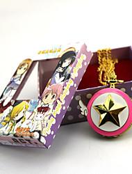 Orologio Ispirato da Puella Magi Madoka Magica Zen Anime Accessori Cosplay Orologio Oro Lega Donna