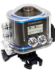 Caméra d'action / Caméra sport 16MP Multifonction WiFi Ajustable Tout en un Pratique 30ips CMOS 64 Go Mode Rafale Parachutisme Plongée