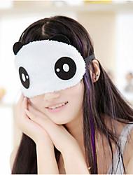 cheap -1Pcs Panda Sleeping Eye Mask Nap Eye Shade Cartoon Blindfold Sleep Eyes Cover Sleeping Travel Rest Patch Blinder Random