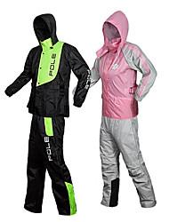 sport di modo moto equitazione tuta impermeabile cappotto pantaloni dividere modelli da uomo abito nero&rosso nero&verde