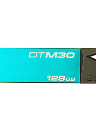 Kingston dtm30 128gb usb 3.0 флэш-диск цифровой datatraveler мини-металл