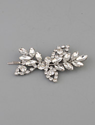 Women's Rhinestone Headpiece-Wedding Casual Hair Clip 1 Piece