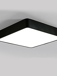 cheap -Square 40cm Modern Style 24W Simplicity LED Ceiling Lamp Flush Mount Light Fixture