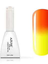 cheap -Azure UV Nail Gel Nail Polish Color Changing with Temperature 1#-12#(12ml,48 Colors)