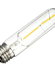 E26/E27 LED Filament Bulbs Tube 2 leds SMD 5730 Decorative Warm White 200lm 2700K AC 220-240V