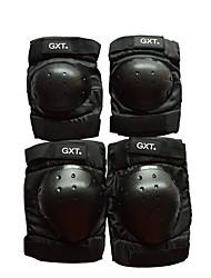 GXT G06 4 Piece/Set Short Knee Elbow Protector Motorcycle Motorbike Motorcross Gear Motocross Motorcycle Knee Protection