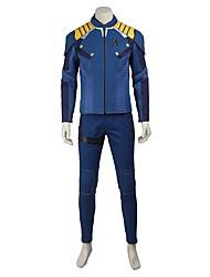 Superhéros Cosplay Costume de Cosplay Pour Halloween Costume de Soirée Bal Masqué Cosplay de Film Manteau Pantalon Ceinture Bottes