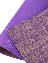 PVC Yoga Mats Odor Free Eco Friendly (1/4 inch) 6 mm
