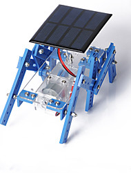 cheap -Crab Kingdom of Solar Panels Hexapod Robot Model Assembled DIY Handmade Material Package