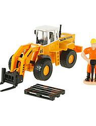 Carros de Brinquedo Brinquedos Veiculo de Construção Empilhadeira Retratável Empilhadeira Liga de Metal Metal Para Meninos Para Meninas