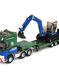 cheap -Toy Cars Toys Construction Vehicle Excavator Toys Retractable Truck Excavating Machinery Plastic Metal ABS Classic & Timeless Chic &