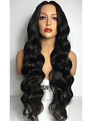 8-26 дюймов 8а объемная волна 100% бразильские виргинские волосы фронта шнурка человеческих волос парик для женщин моды фронта шнурка