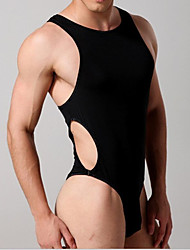 cheap -Men shapers sexy Singlet Unitards Lingerie Underwears Man Body Shaper Bodysuit