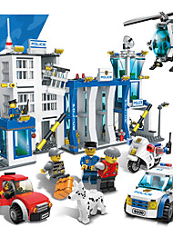 cheap -Building Blocks Toys Professional Level ABS Boys' 870 Pieces