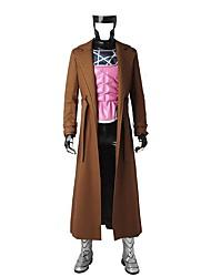 Superhéros Cosplay Costume de Cosplay Pour Halloween Costume de Soirée Bal Masqué Cosplay de Film Manteau Gilet Haut Pantalon Gants Masque