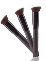 1pcs Foundation Makeup Brush Synthetic Hair Professional Wood Face Others
