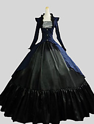 cheap -Gothic Lolita Dress Victorian Women's Outfits Cosplay Poet Long Sleeves